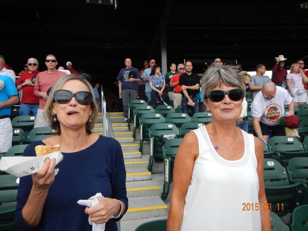 HOTDOGS? ONLY AT A BASEBALL GAME?