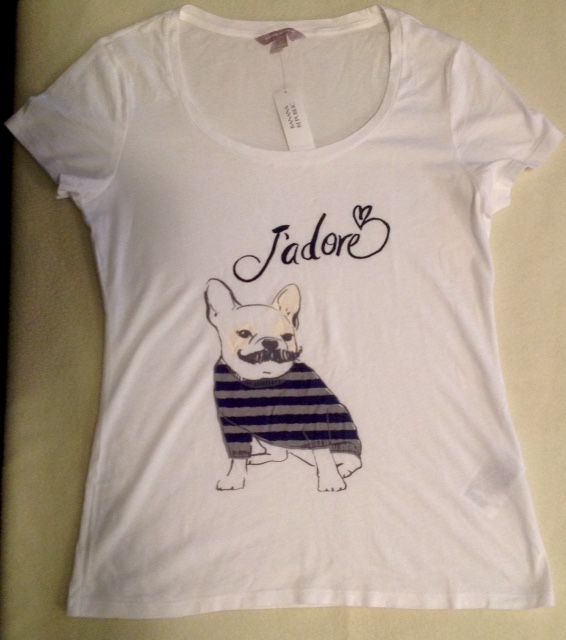 Frenchie Tee-SHIRT